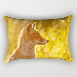 Le P'tit Renard Rectangular Pillow