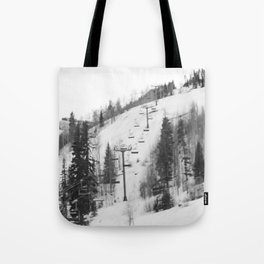 Chair Lifts at Vail Colorado Tote Bag