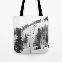 Chair Lifts at Vail Colorado Tote Bag