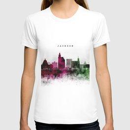 Jackson Watercolor Skyline T-shirt