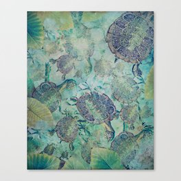Watery Whimsy Canvas Print