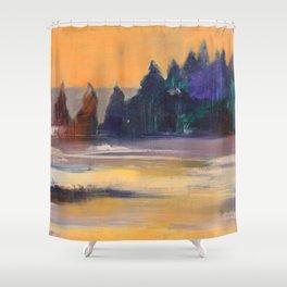 Morning awakening Shower Curtain