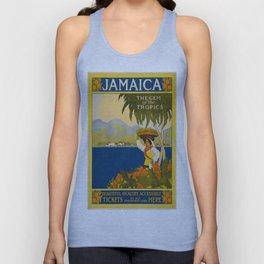 Vintage poster - Jamaica Unisex Tank Top