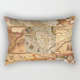 Old maps Rectangular Pillow