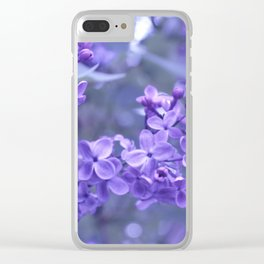 Suddenly, Spring Clear iPhone Case