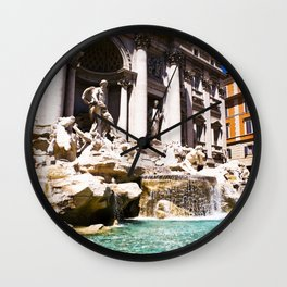 italy - rome - vacanze romane_27 Wall Clock