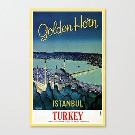 Golden Horn Istanbul Canvas Print