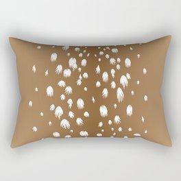 Speckled Fawn - baby deer spots Rectangular Pillow