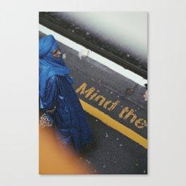 Tuareg in london Canvas Print