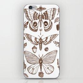 Natural History (Brown) iPhone Skin