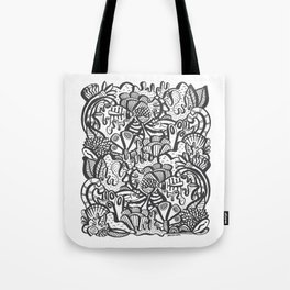 Life Aquatic Tote Bag