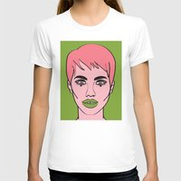 mod T-shirts featuring Mod by Grace Teaney Art