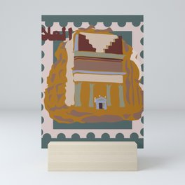 Riyadh Is Here Mini Art Print