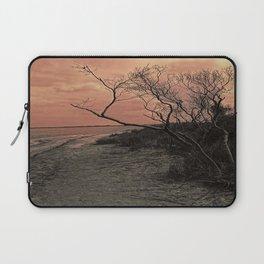 Diffused Beach Tree Laptop Sleeve