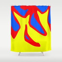 Excited Shower Curtain