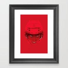 Ovechkin Superhero Framed Art Print