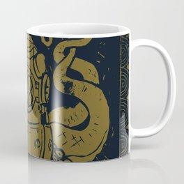 Mark V Octopus - gold Coffee Mug