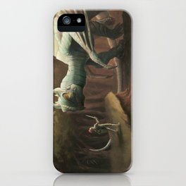 Unamused iPhone Case