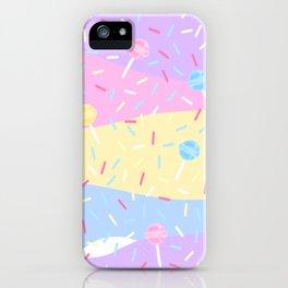 Lolipop Sprinkles Sweet Pastel Colours iPhone Case