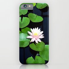 Lily pads and flower Slim Case iPhone 6s