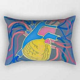 Pop Heart Rectangular Pillow