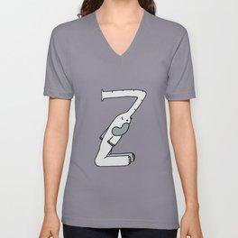 Letter Z Unisex V-Neck