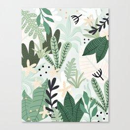 Into the jungle II Canvas Print