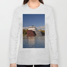 Roger Blough freighter in the Fall Long Sleeve T-shirt