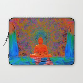 Cool Water Zen (Ultraviolet) (psychedelic, meditation) Laptop Sleeve