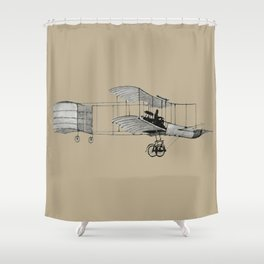 plane3 Shower Curtain