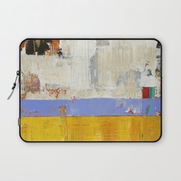 Amenity Abstract Landscape Yellow Modern Shawn McNulty Laptop Sleeve
