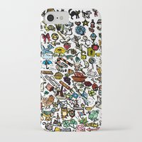 the 100 iPhone & iPod Cases featuring 100 things by Michelle Behar