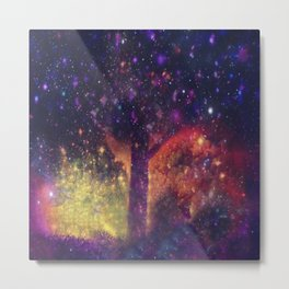 nature space-51 Metal Print