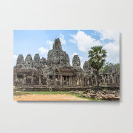 Bayon Temple, Angkor Thom, Cambodia Metal Print