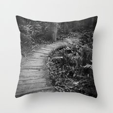 The Pathway Throw Pillow