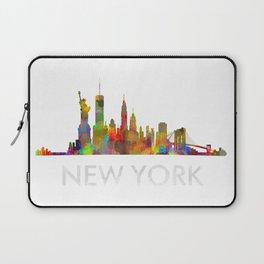 NY-New York Skyline HQ Laptop Sleeve