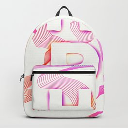 Hope inspirational quotes motivation Backpack