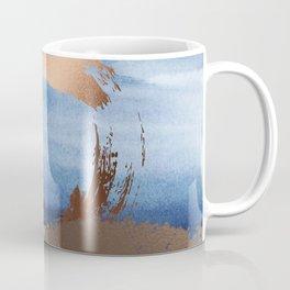 Inspiration: Gold, Copper And Blue Coffee Mug