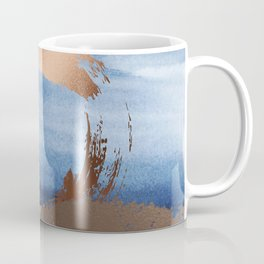 Inspiration: Gold, Copper And Blue Coffee Mug