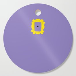 Friends Peephole Frame Cutting Board