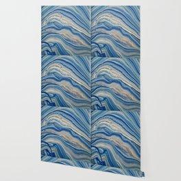 Blue swirls 879 Wallpaper