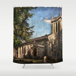 St Nicholas Church Sulham Shower Curtain