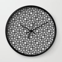 leonardo Wall Clocks featuring Leonardo by Mauricio Cosío