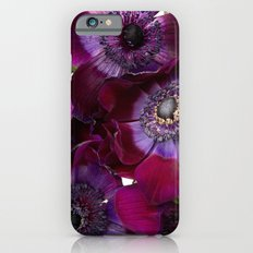Anemone Coronaria Slim Case iPhone 6s