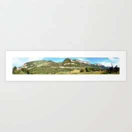 Turnoff to Haviland Lake at the Riding Stables Art Print