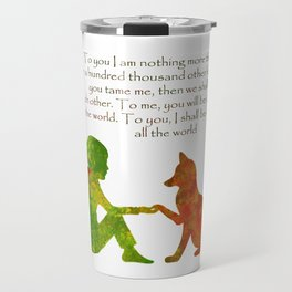 Little Prince Quote Travel Mug