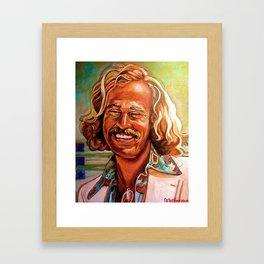 Buffet Framed Art Print