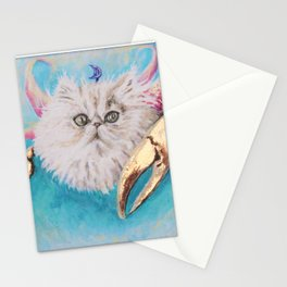 Crabby Cancer Merkitty Stationery Cards