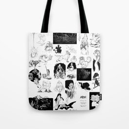 Maevb's Inktober 2018 Tote Bag
