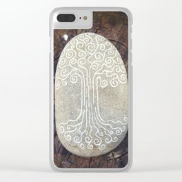Spiritual symbol. Tree of Life. Clear iPhone Case